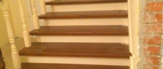 Фото металлическая лестница на второй этаж облицованная деревом