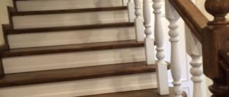 Фото изготовление деревянной лестницы на заказ