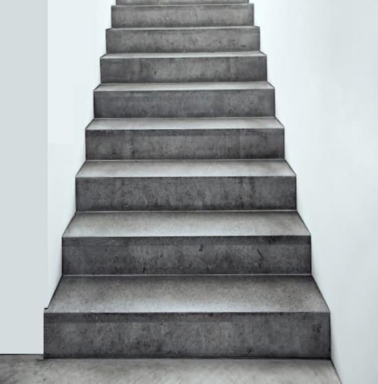 Отделка, облицовка, обшивка бетонной лестницы