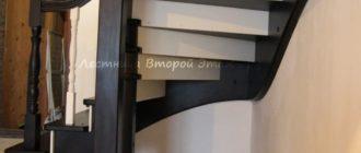 """Фотографии деревянных лестниц """"Премиум"""" изготовленных на заказ"""